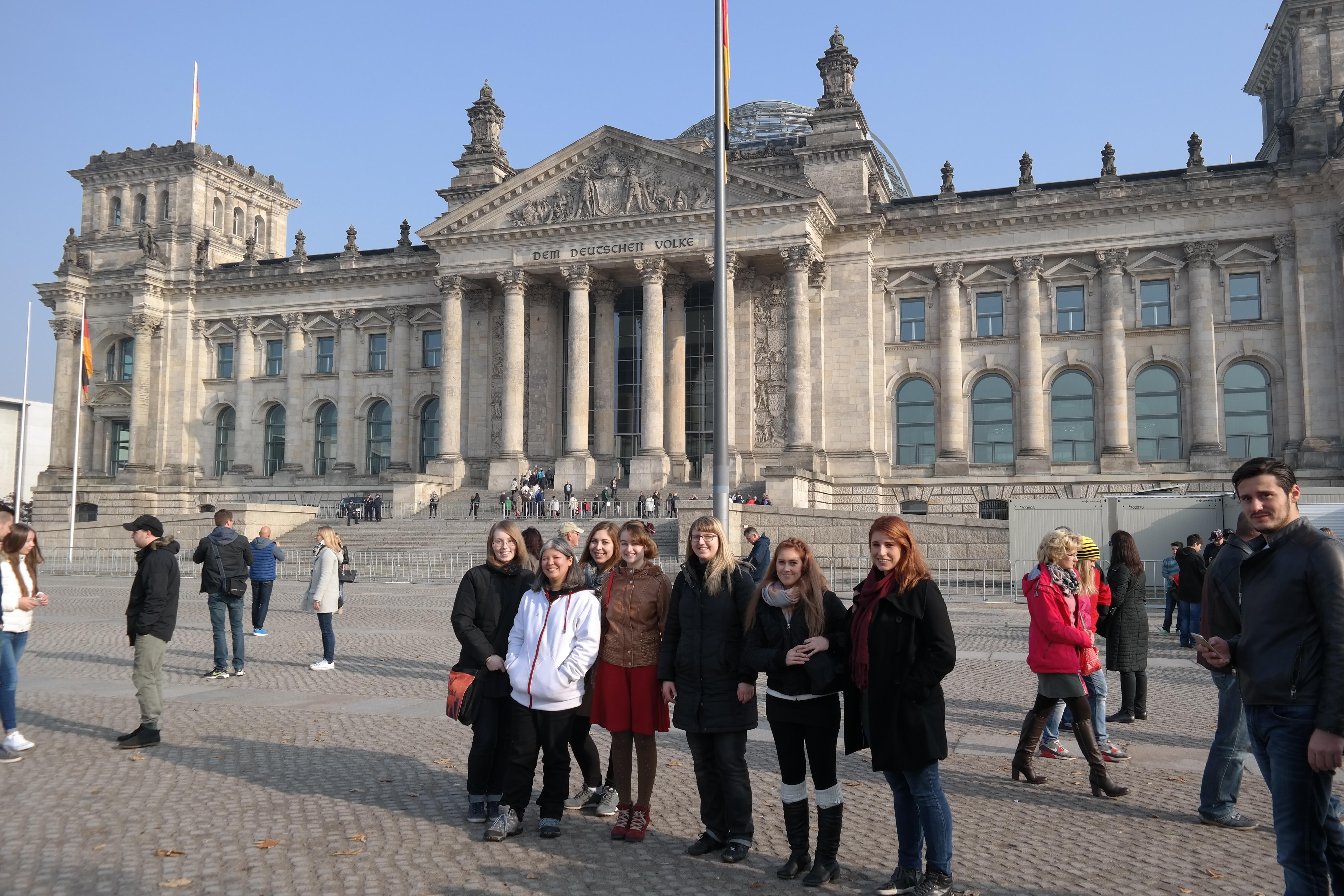 Berlin Reichstag Julie Kagawa
