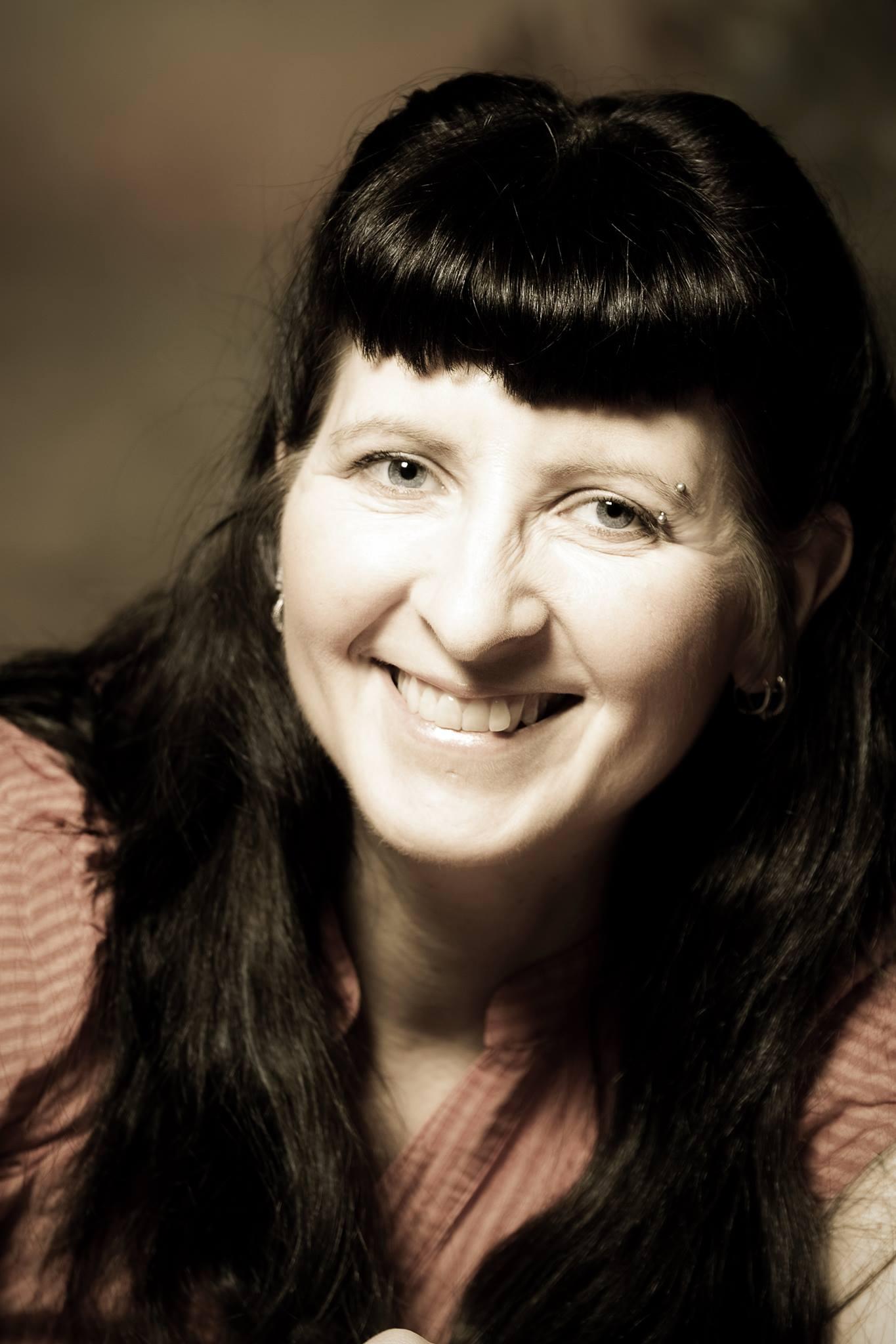 Autorin Sandra Florean