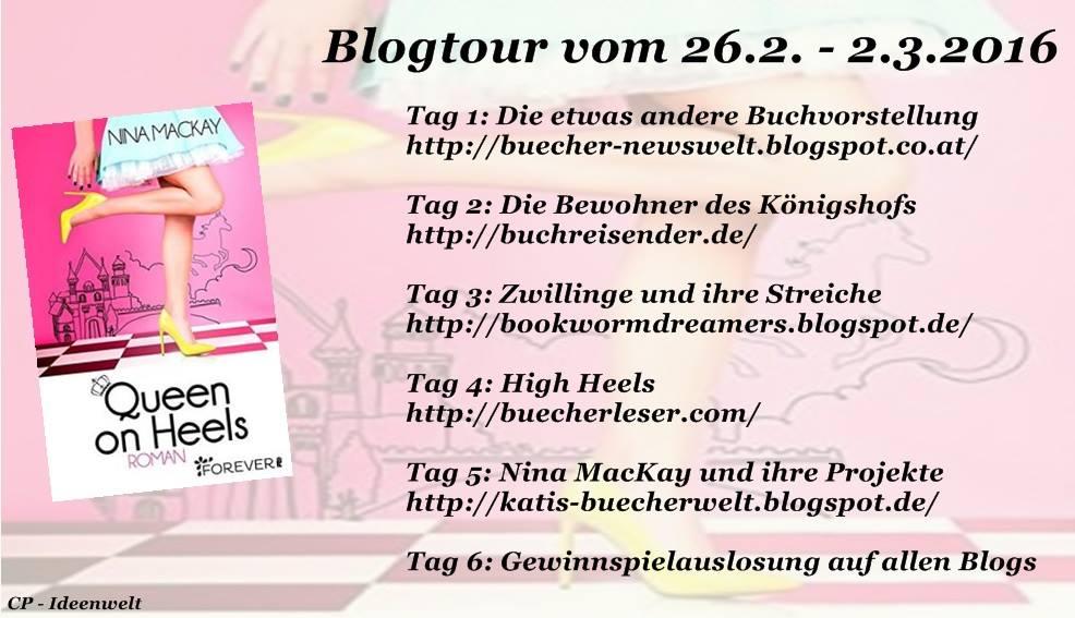 Blogtour Queen on Heels