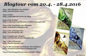 Wächter von Avalon Blogtour