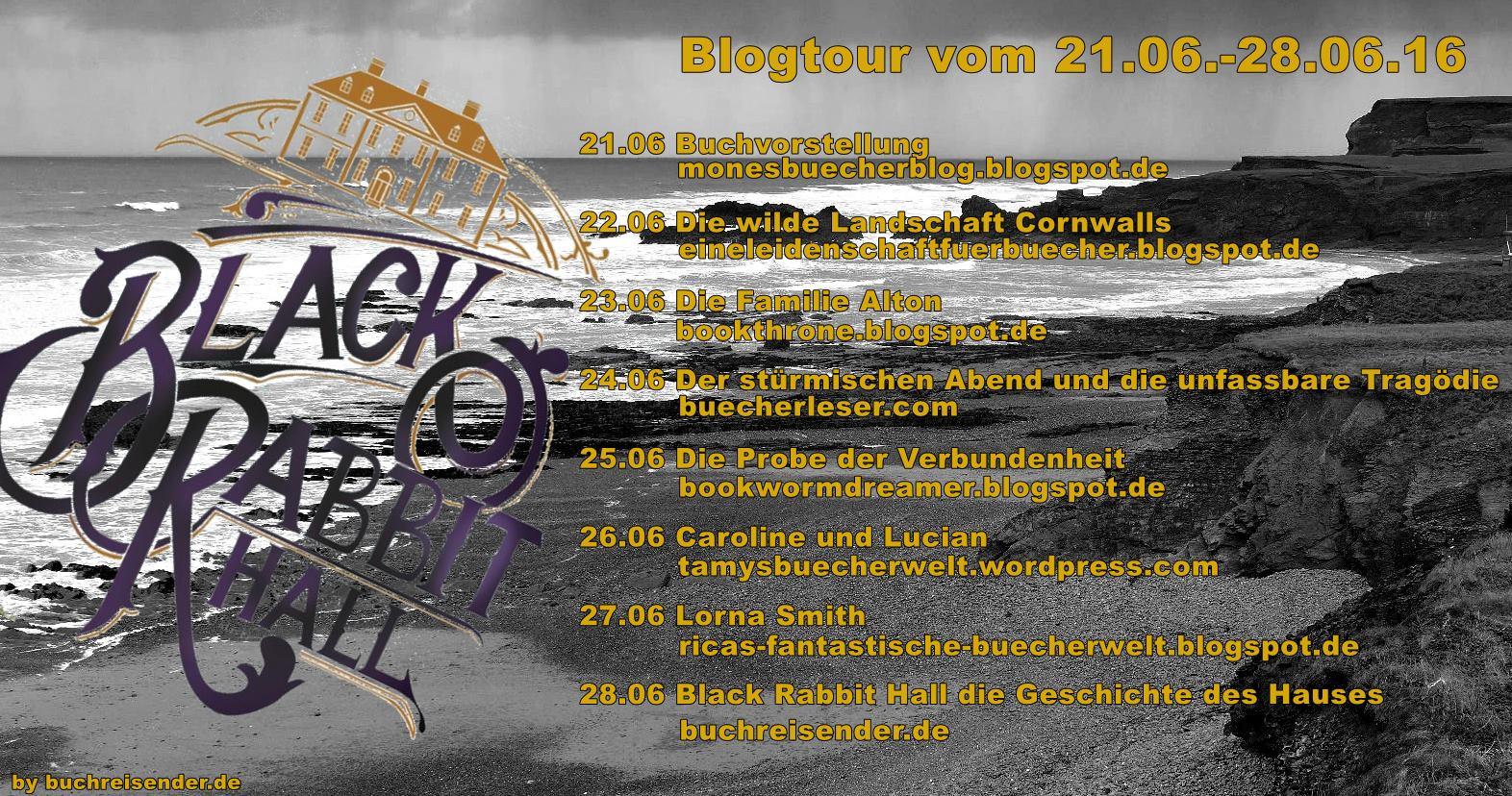 Banner Blogtour Black Rabbit Hall
