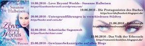 Themenbanner Blogtour Love Beyond Worlds